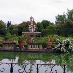 The Boboli Gardens in Florence, Italy