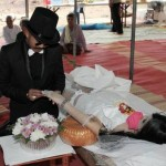 Weird News - Man marries dead girlfriend