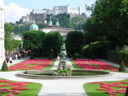 The Mirabell Palace is a historical building in Salzburg, Salzburgerland, Austria.