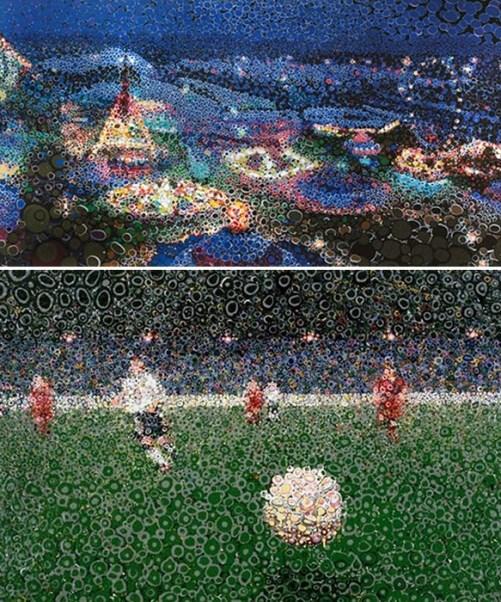 Oil painting by British artist Matthew Davis