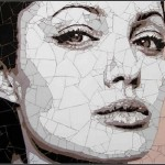 Beautiful Mosaic portraits by Ed Chapman