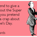 I'll pretend to give a crap