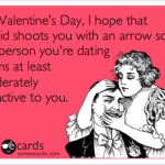 Cupid shoots you with an arrow