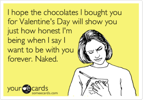 Someecard for Valentine's Day