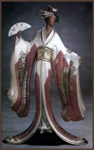 Asian Princess by Russian fashion designer Erte