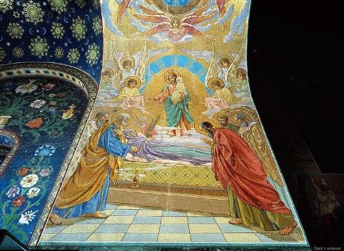 artist Vladimir Belyaev. Assumption