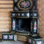 Russian style fireplace (stove)