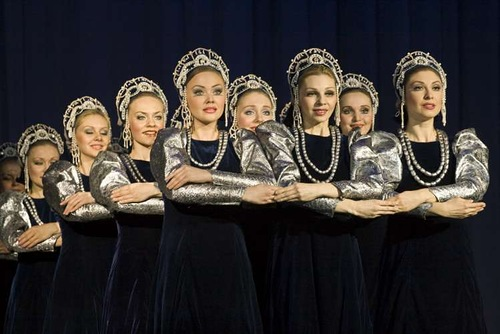 The Berezka Ensemble – Russia Floating Dance Group