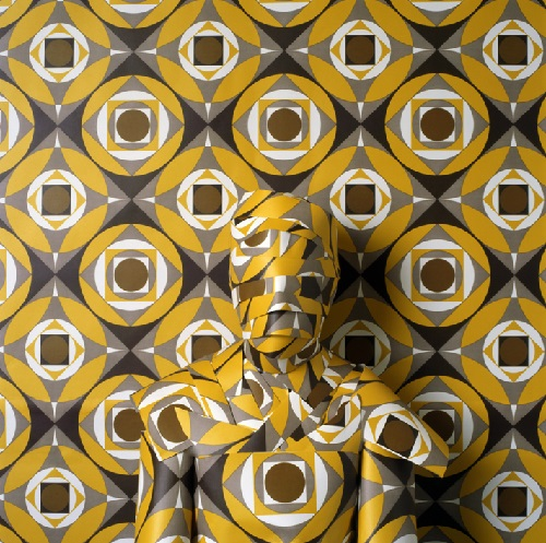 Geometrical patterns. Camouflage artwork by Peruvian artist Cecilia Paredes