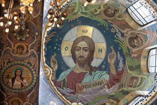 NN Kharlamov. Christ Pantocrator