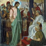 Bodarevsky. Christ and Pilate