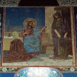 Christ in the House of Martha and Mary (artist VV Belyaev)