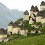 North Ossetia Dargavs City of the Dead