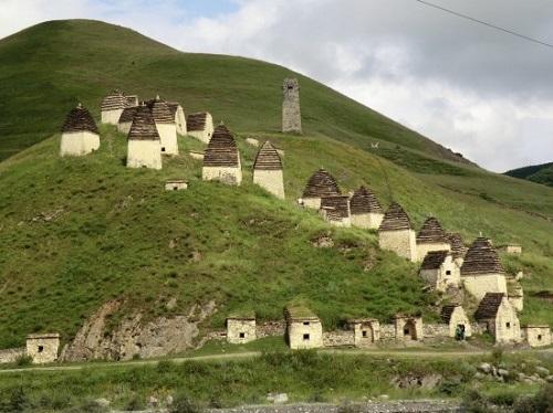 Dargavs - The City of the Dead in North Ossetia, Russia