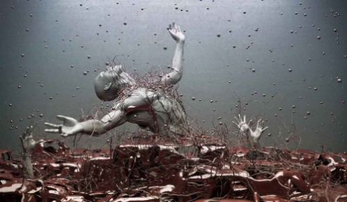 Digital abstract art by Adam Martinakis