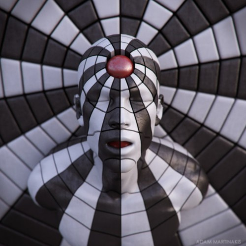 Digital abstract art by Adam Martinakis