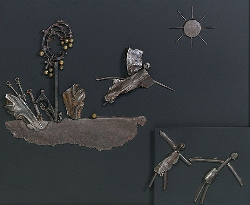 Expulsion from the Paradise From the series Visions of the rusty time
