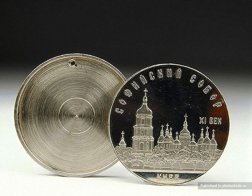 Hollow Coin. 1950s-1990s, KGB. Hollow coins easily concealed microfilm and microdots. They were opened by inserting a needle into a tiny hole in the front of the coin.