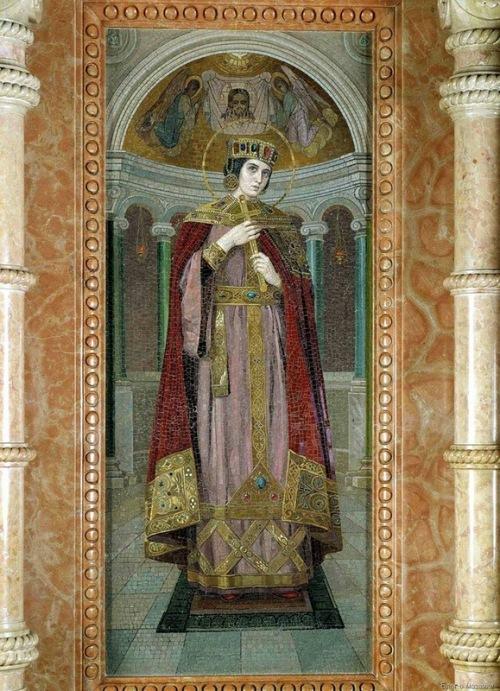 Holy Queen Alexandra (NK Bodarevsky)