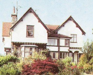 How Meadowbank House looked before it was demolished