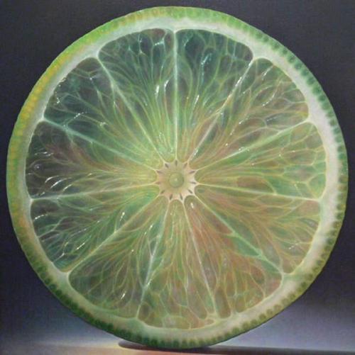 Hyperrealistic painting by American artist Dennis Wojtkiewicz