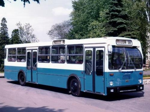 like West German standard, Ikarus 190 (1973–1977)
