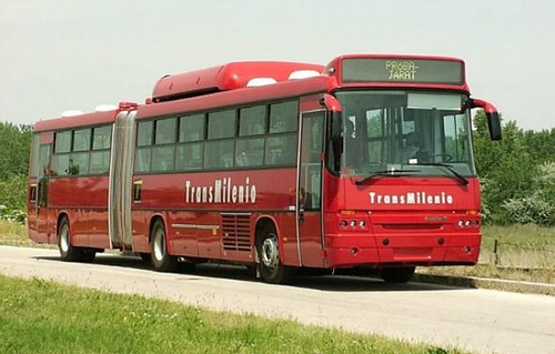 Ikarus - popular in the USSR Hungarian bus