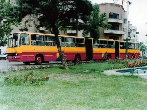 Hungarian bus Ikarus