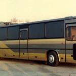Suburban Ikarus - popular Hungarian bus