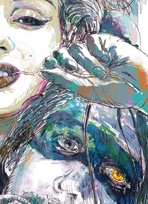 Illustration Fine Art by Ladislav Hubert