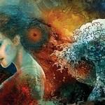 Illustration by London based Czech artist Ladislav Hubert