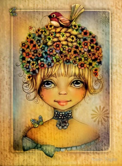 Illustrations by Australian Artist Karin Taylor