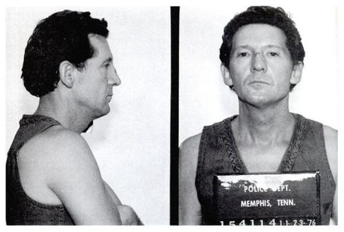 Celebrities Mug Shots. Jerry Lee Lewis. November 1, 1976
