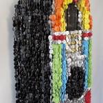 3d Button Sculptures by Augusto Esquivel