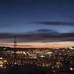 Twilight. Krasnoyarsk