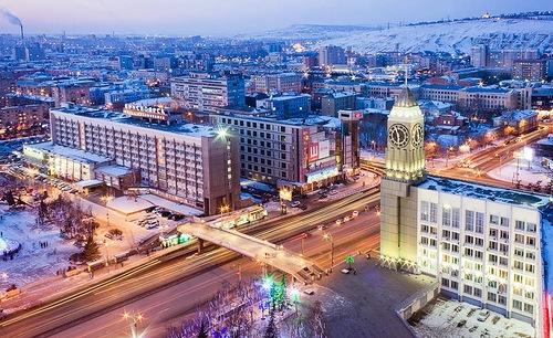 Megapolis of Siberia, Krasnoyarsk