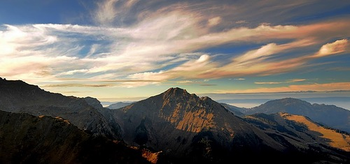 Sunset, photographer Gilles Ferrier