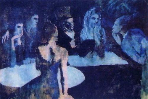 Les Noces de Pierrette by Pablo Picasso. Most Expensive sold Paintings