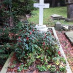 Grave of Lewis Carroll (27 January 1832 – 14 January 1898)