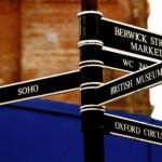 Street signs London