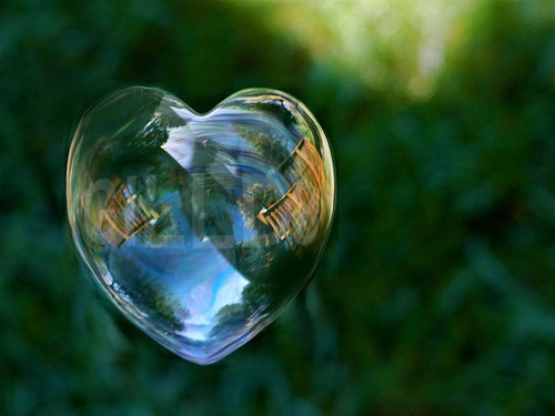 Bubble heart