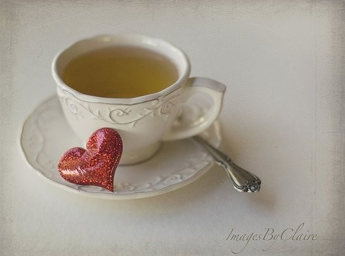 A cup of tea. Love