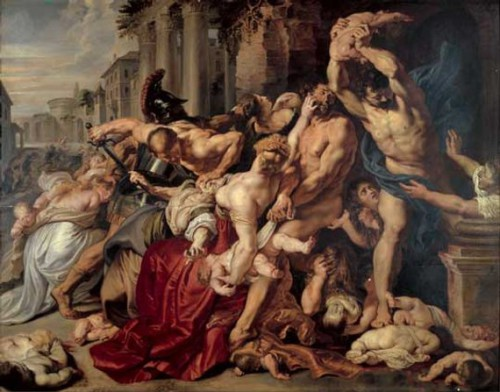 Massacre of the Innocents by Peter Paul Rubens. Most Expensive sold Paintings