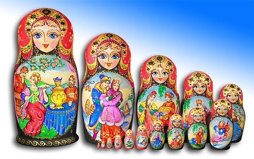matryoshka by Tatiana Ulianova