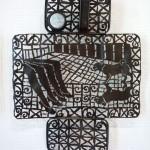 Blacksmith Cal Lane creates works of forging art