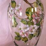 Fabulous Glass painting by Russian artist of applied art Oksana Vasilyeva