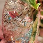 Painting on glass by Russian artist of applied art Oksana Vasilyeva