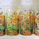 Fabulous Glass painting by Russian artist of applied art Oksana Vasilyeva