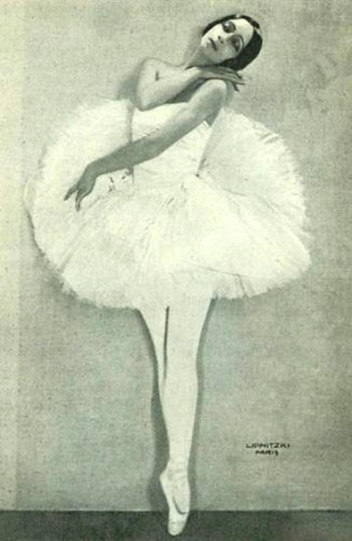 January 2, 1927, the dancer Olga Spessitseva