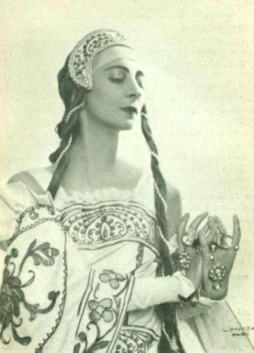 Saint Olga of Kiev. Russian ballerina Olga Spessivtseva